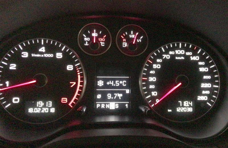 オイル交換122,038km MOTUL 300V POWER RACING 5W-30