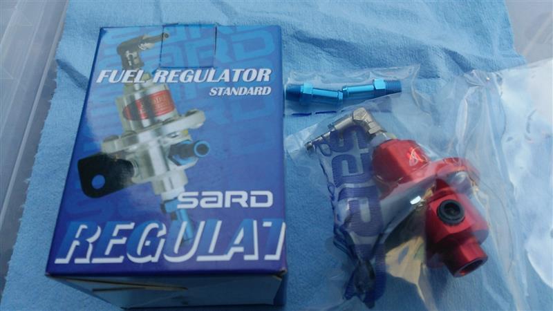 SARD(サード)調整式フューエル レギュレーター取付