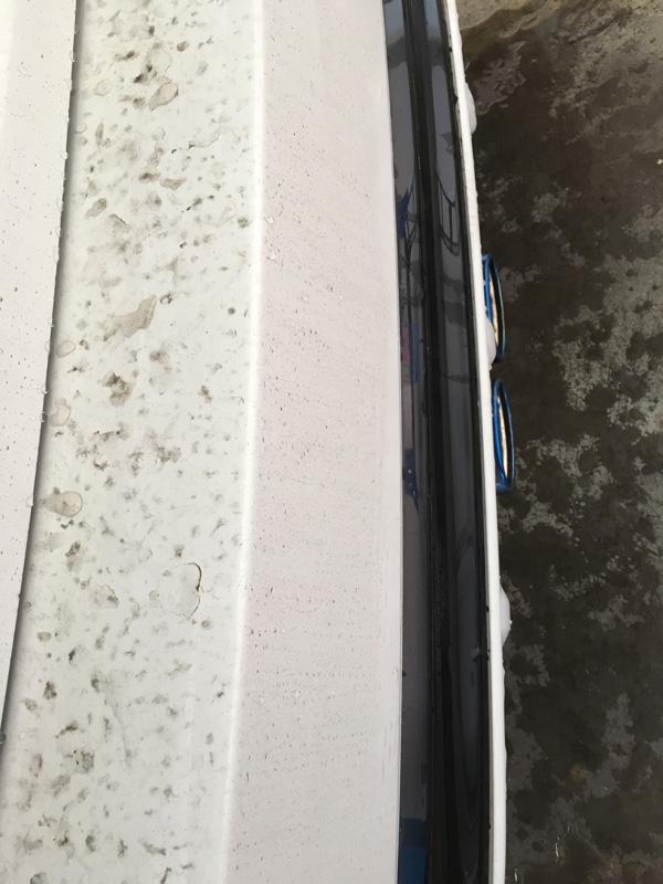 洗車記録2018(7回目、水洗い)
