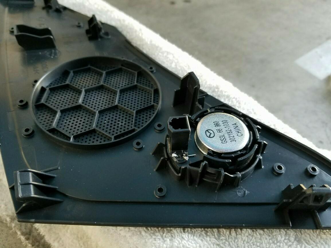 ツイーターコンデンサー交換
