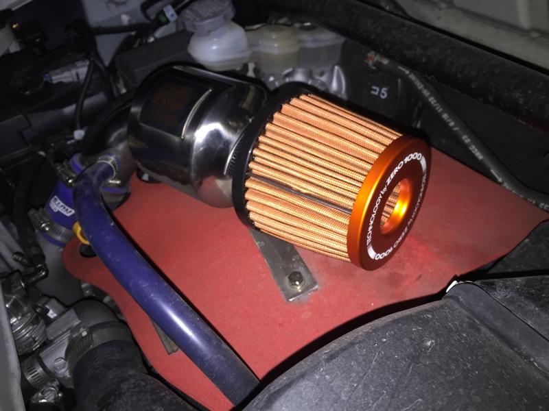 KCテクニカ パワーMAXGT に 零1000の交換フィルター装着