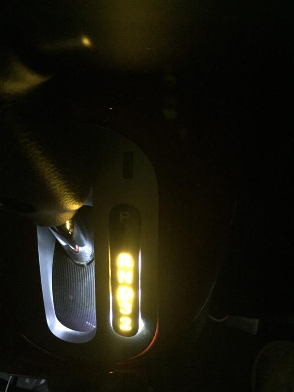 シフトパネル LED加工