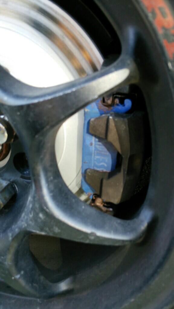 フロント:ディスク・キャリパー左右                     ローター研磨  リア:ディスク・キャリパー左右              シールキット交換              キャリ
