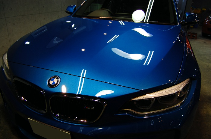 かつての名車の再来。BMW・M2のガラスコーティング【リボルト川崎】