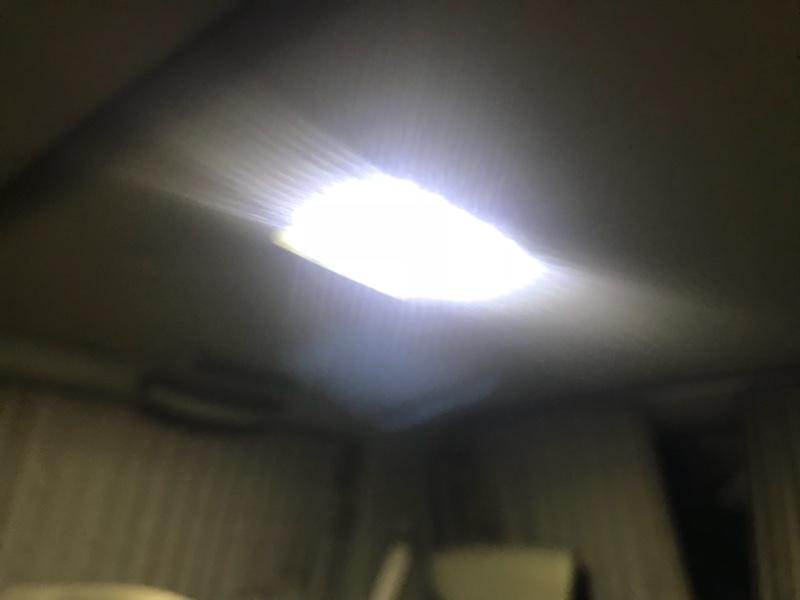 ルームランプ簡易LED化