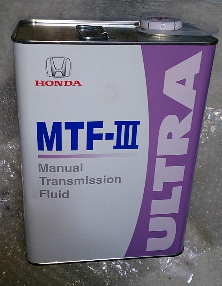 ホンダ純正ミッションオイル MTF-Ⅲ プラス ナノスリック、ミッション用