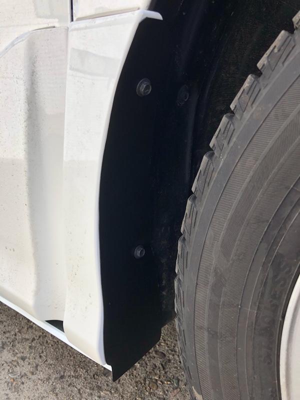 2018/02/15 タイヤハウスの汚れ対策