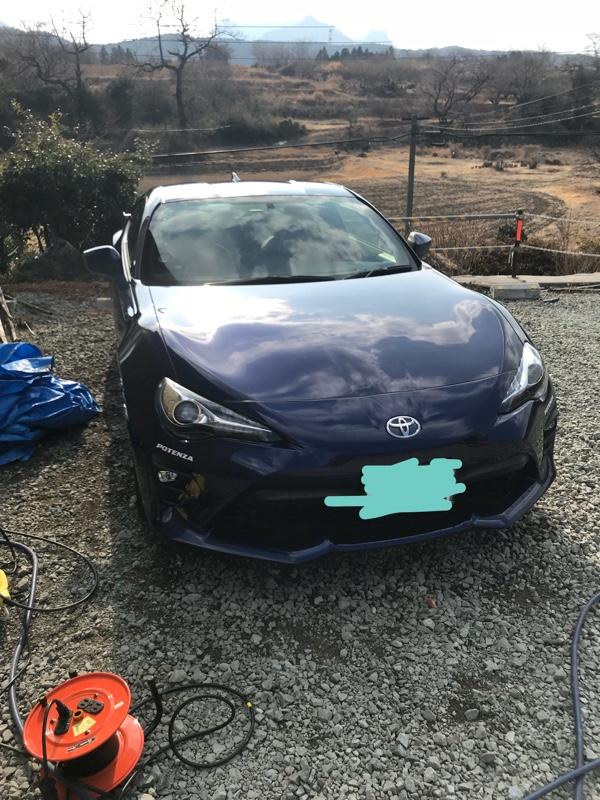 私の洗車方法_(   _´ω`)_