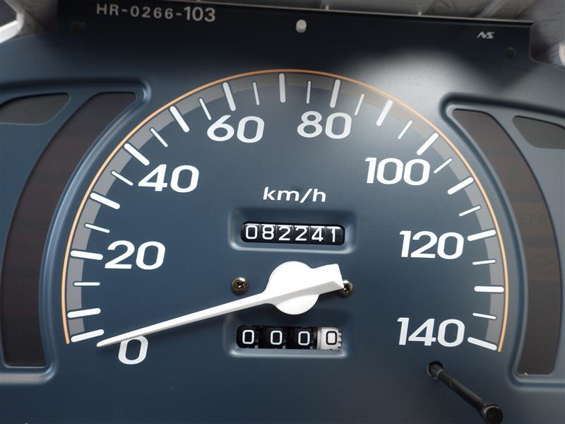 スピードメーター針修正