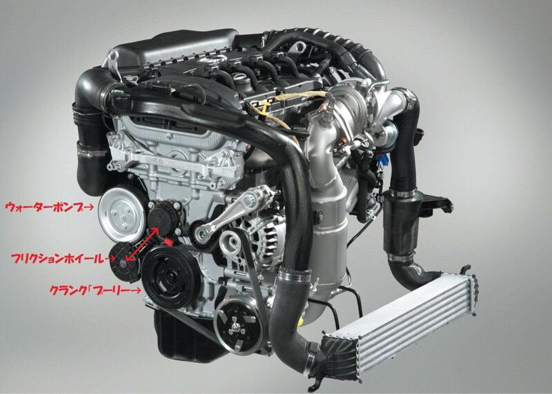 エンジンの異音修理