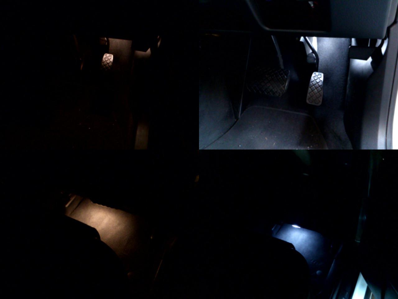 フットランプ LED化