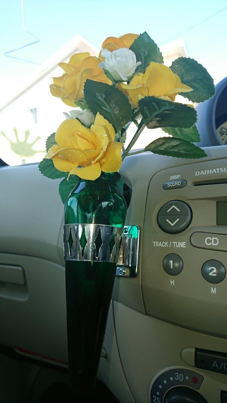 トラック用花瓶