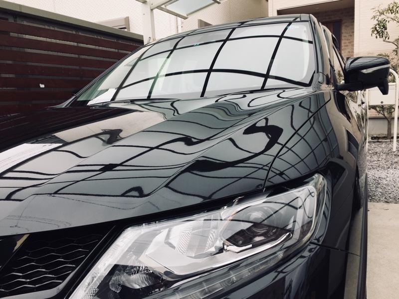 洗車記録【雨水拭き取り】