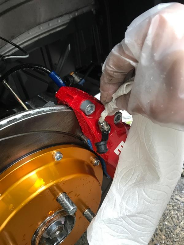 ENDLESS ローター&キャリパー交換