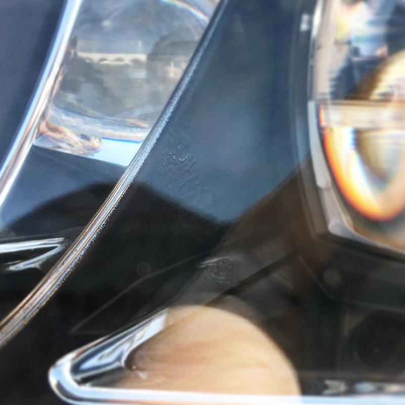 ヘッドライト焦げ対策品に交換