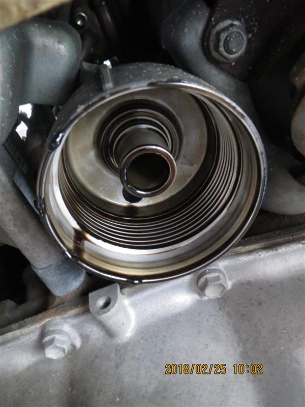 【備忘】エンジンオイル交換