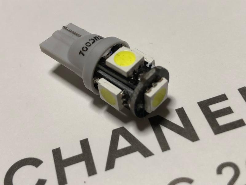 ライセンスランプ(ナンバー灯)LED化