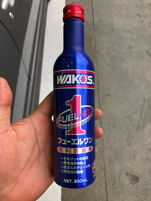 WAKO'S(ワコーズ) F-1 フューエルワン