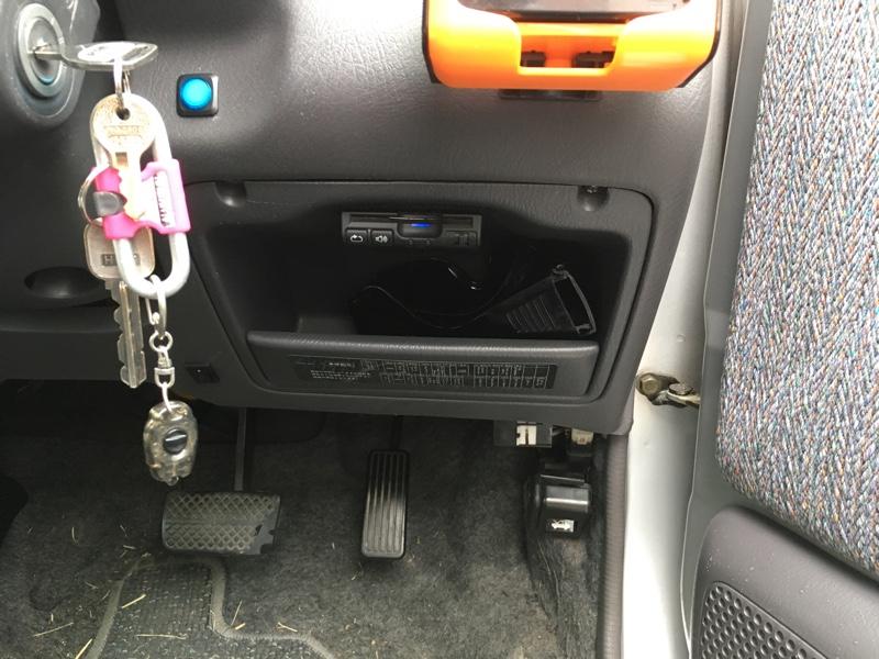 ETC車載器の移設