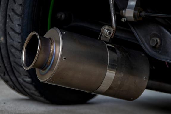 ホンダ・ビート RSマッハ N1 セミチタン マフラー Honda Beat RSmach