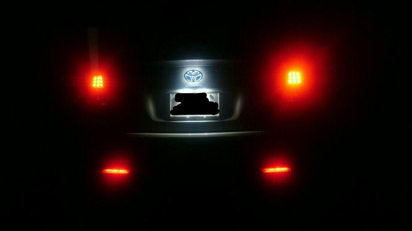 エンブレム LED化