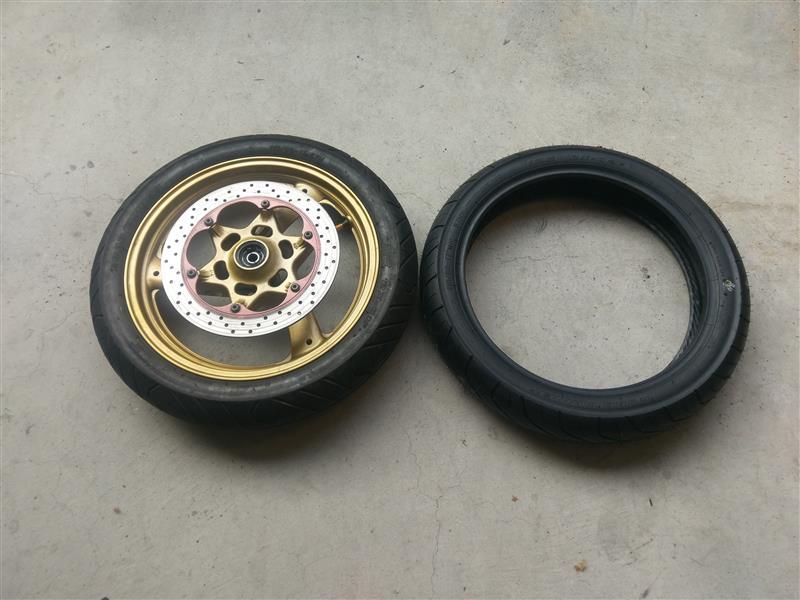 SRV250ssIRCRX02に付け替えの巻