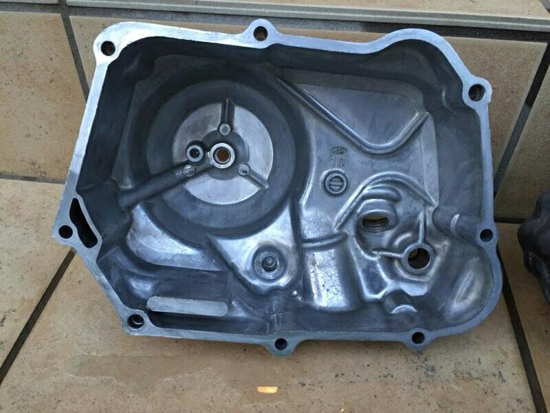 スーパーカブC90 4速化(クランクケース洗浄)