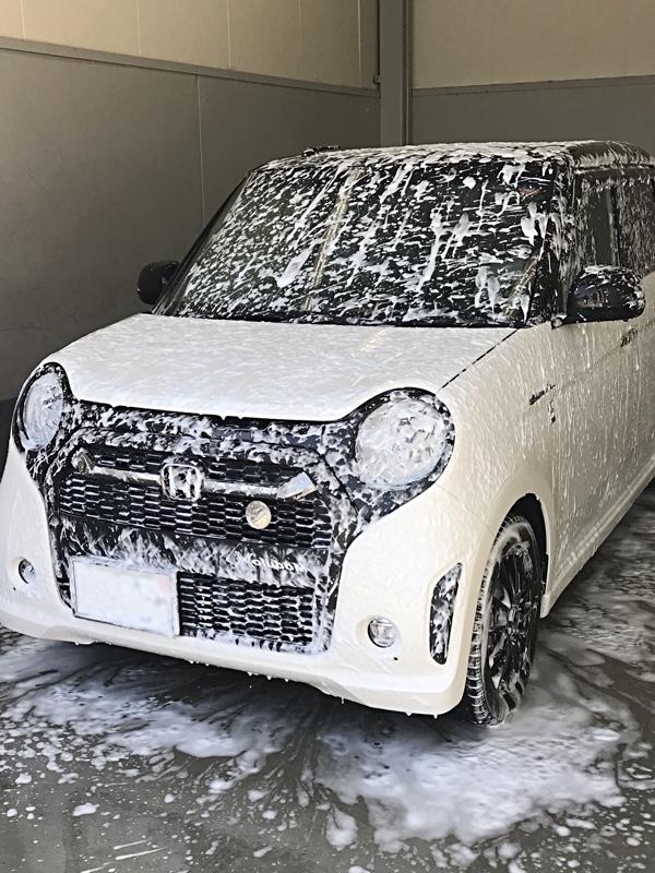 キーパーラボ無料点検&手洗洗車。