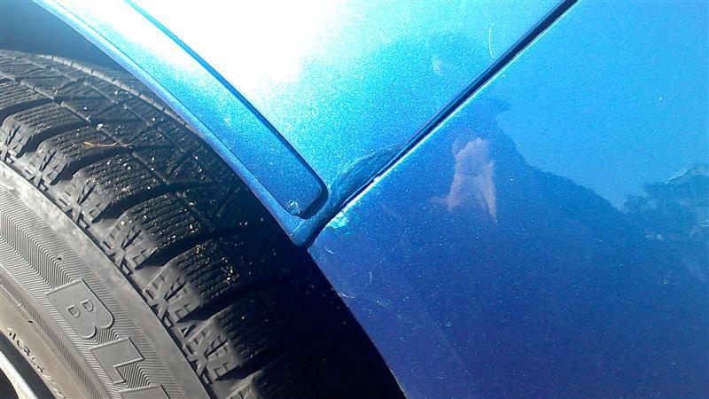 マーチ12SRのボディ塗装剥がれタッチアップ補修。