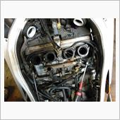 YZF600Rのキャブレターガソリン漏れ補修・清掃