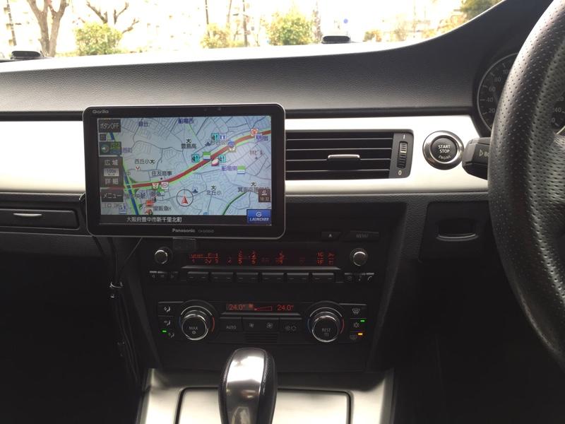 BMW E92 カーナビ取り付け(本体取り付け編)
