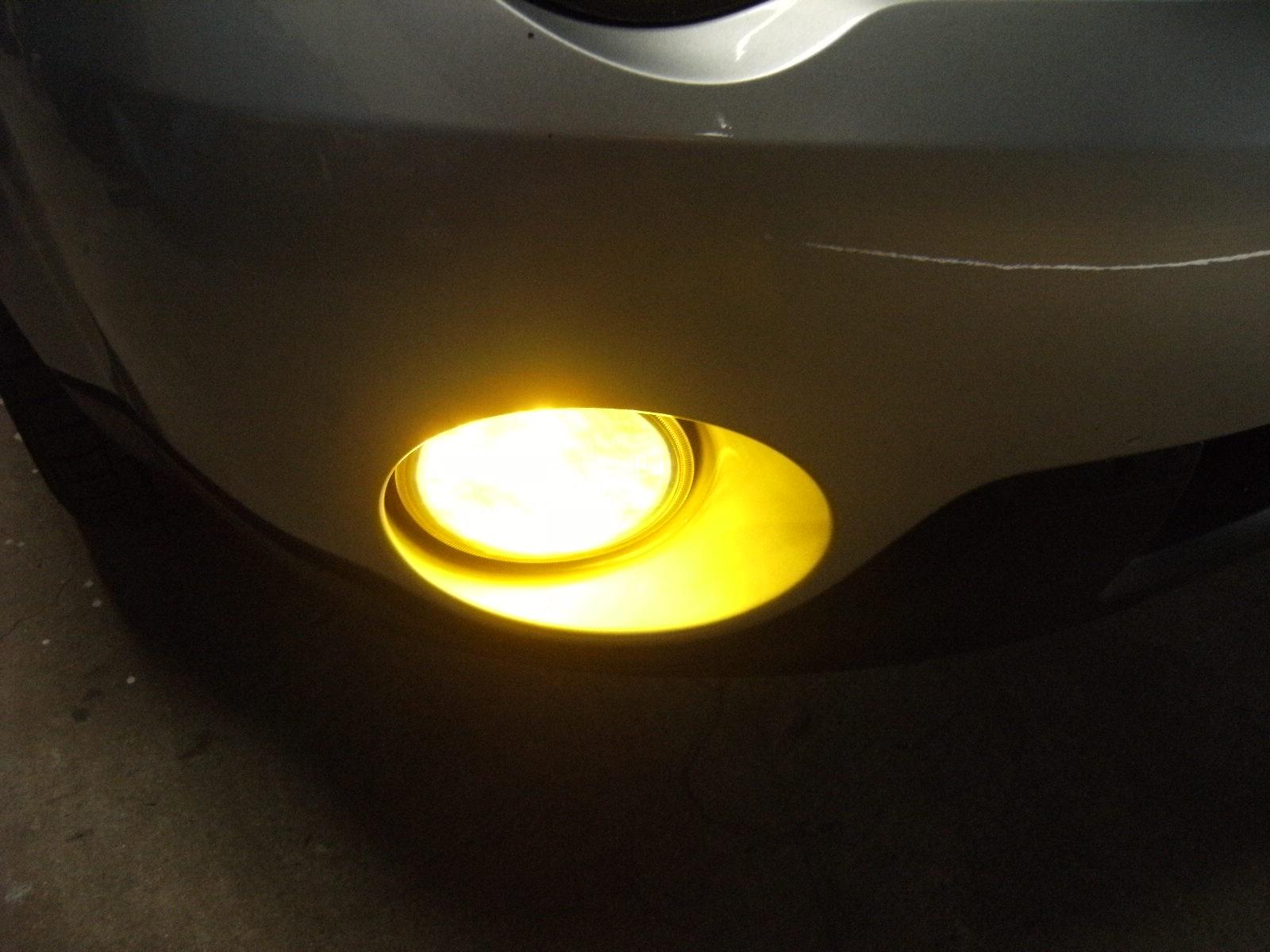 フォグ イエロー化(LED-COB)36w