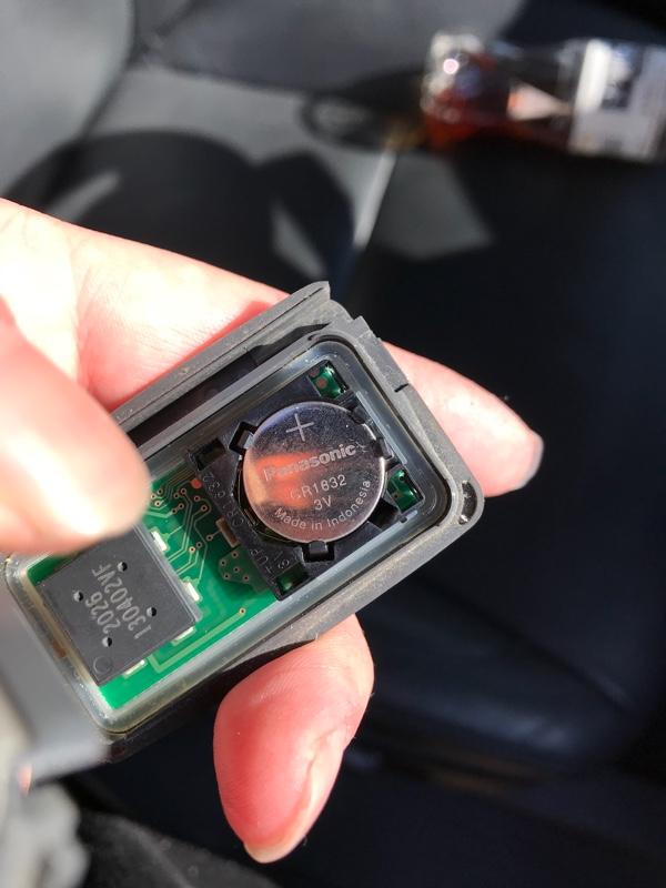 キー電池交換