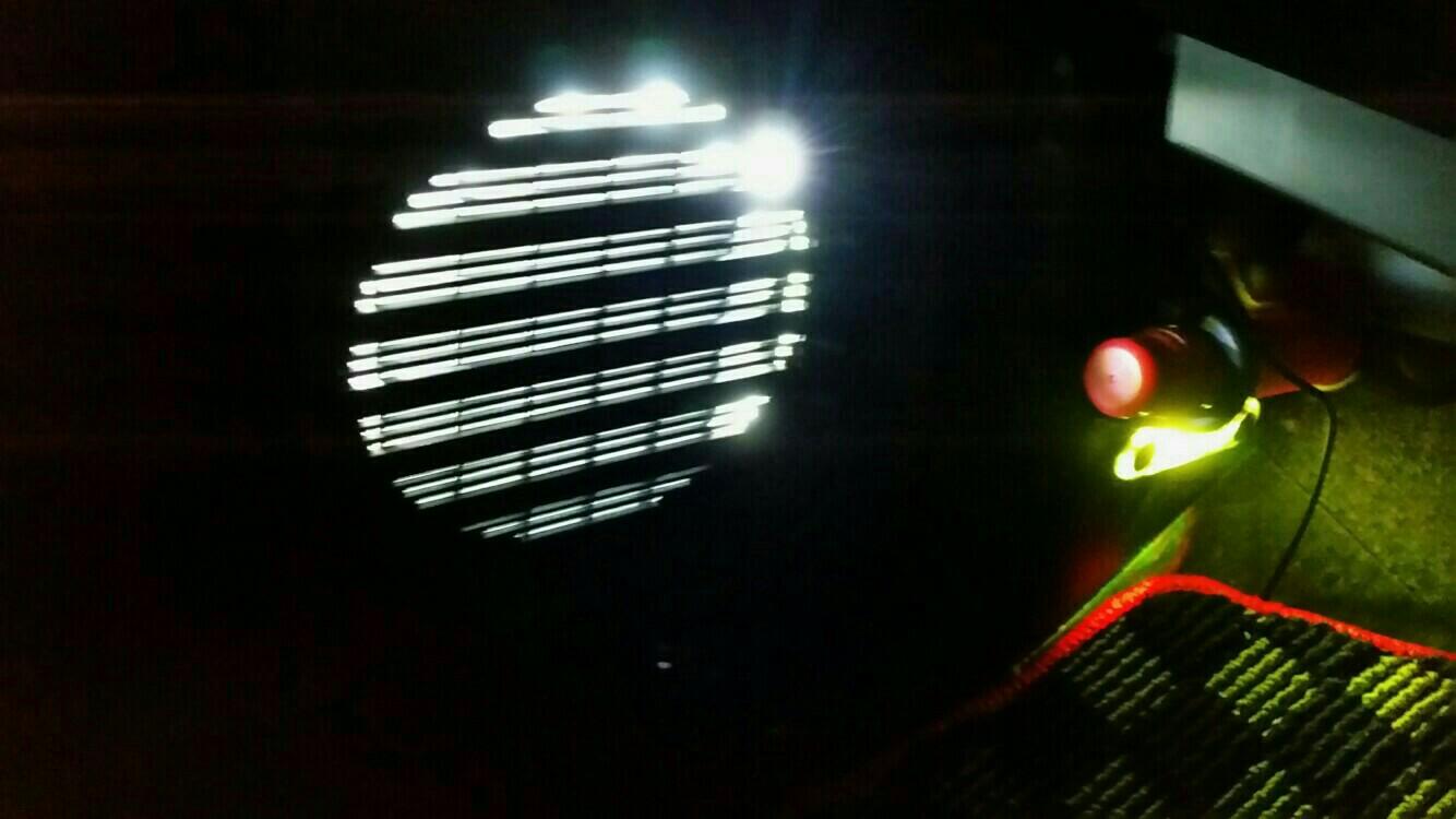 スピーカー交換LEDでドレスアップ①
