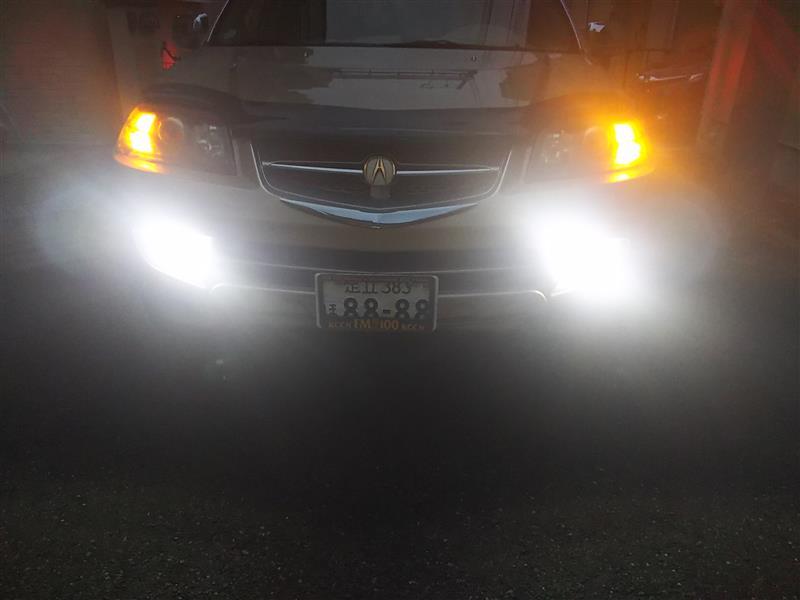 フォグランプ2色LED化