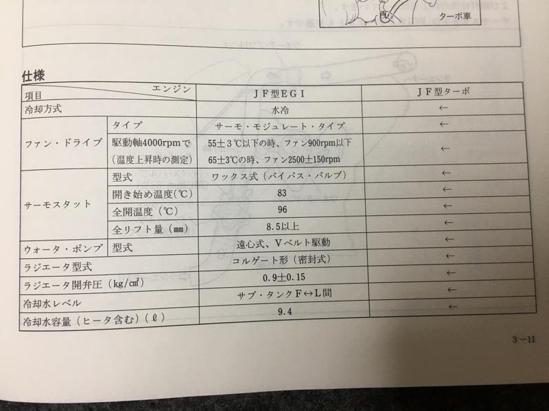 電動ファン 撤廃〜カップリングファン戻し