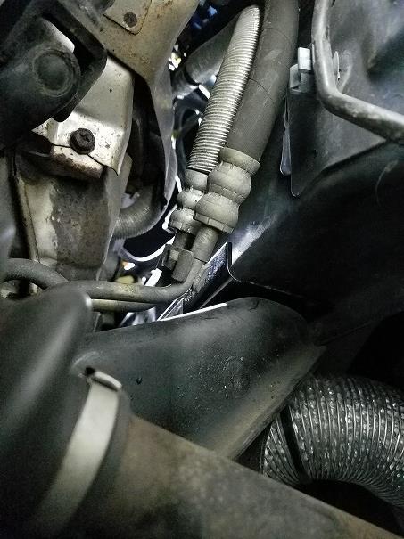 GDB(pon/on) メンバーボルト補強ブラケット流用エンジンダウン