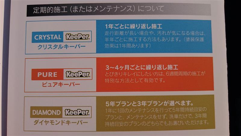 ピュアキーパー施工(2018/03/10)