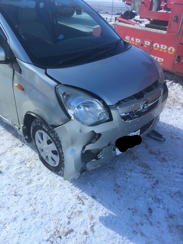 事故にあいました