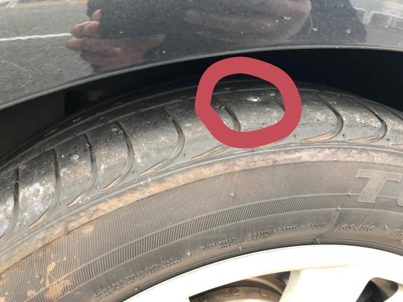 タイヤ交換【255,039km】