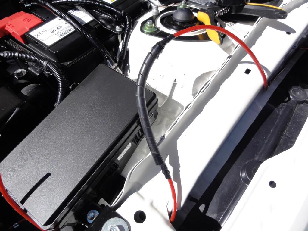 FK8 電源BOXの設置 その2