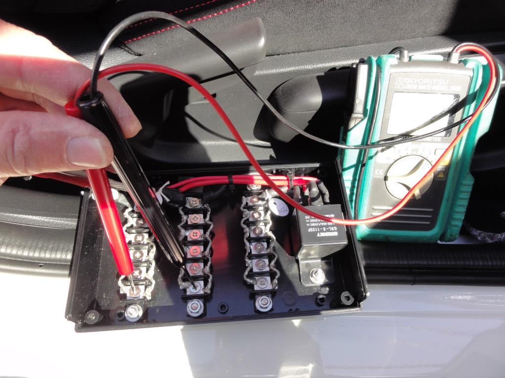 FK8 電源BOXの設置 その3