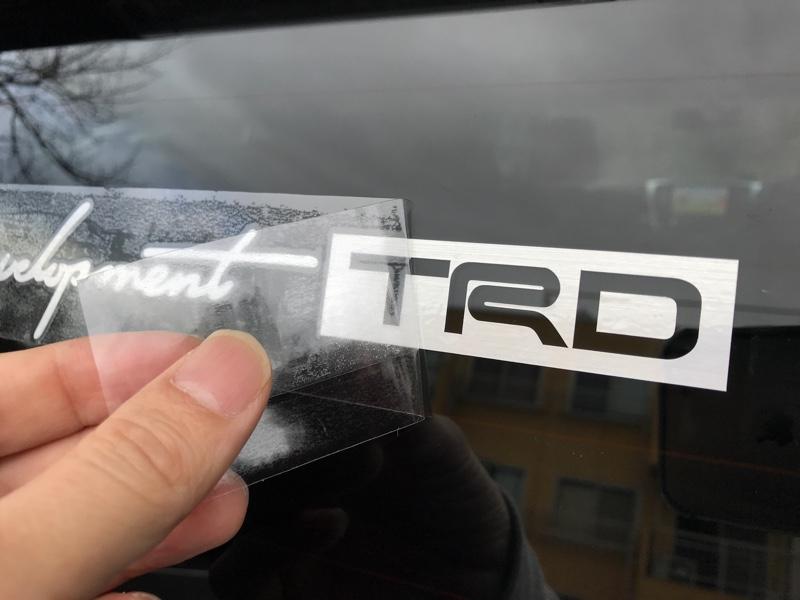 TRDステッカー