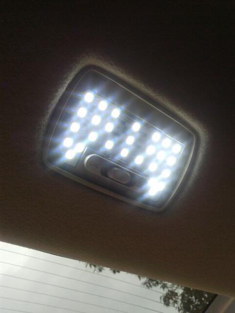 LEDルームランプ交換なのです!