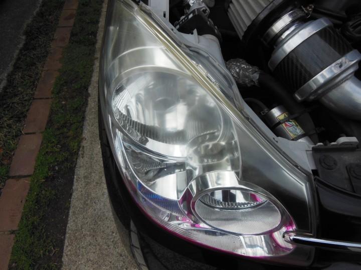 シュアラスター ヘッドライト磨き