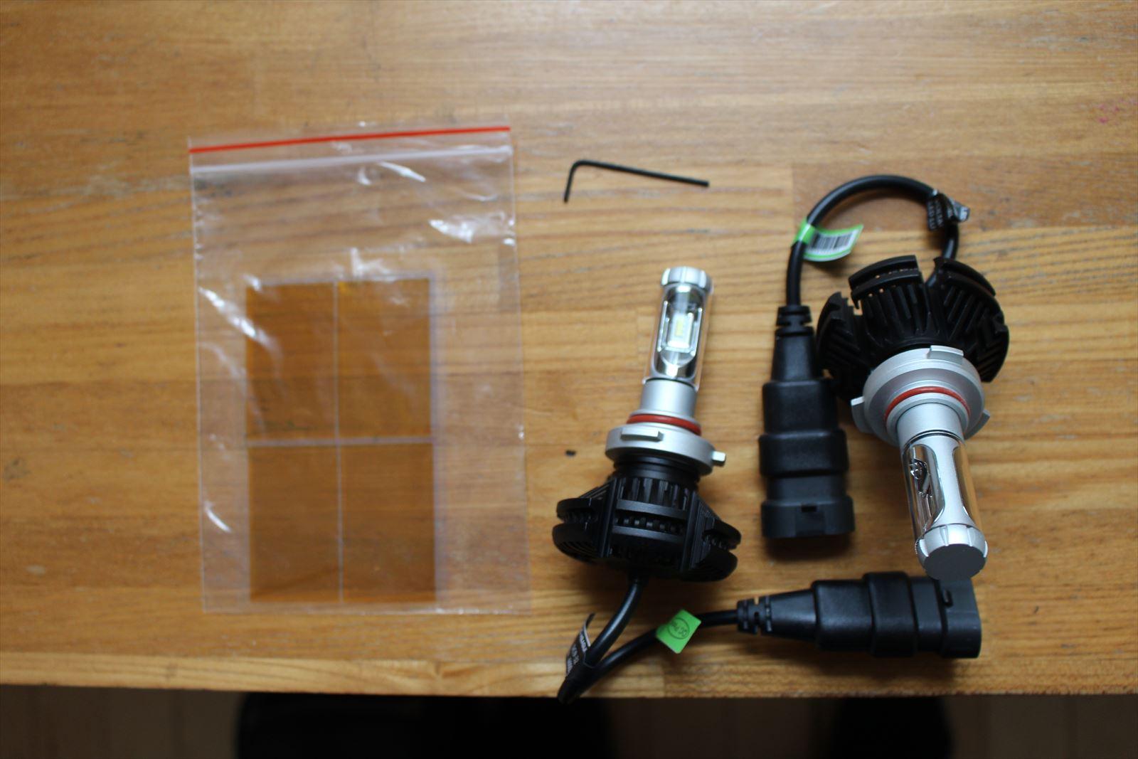 ハイビーム HB3 LED交換