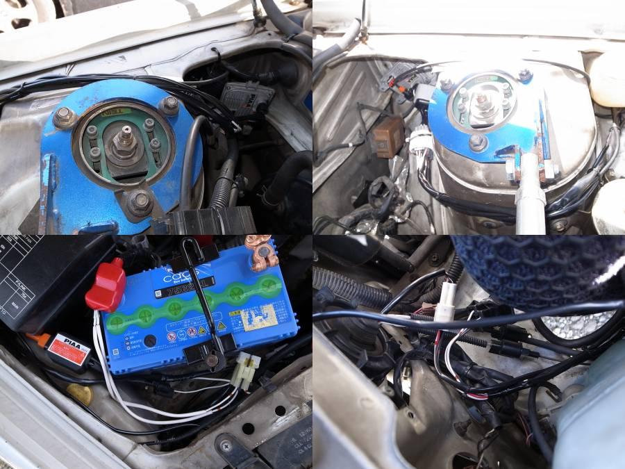 海外製HID → PIAA HID/H4 バッテリー交換