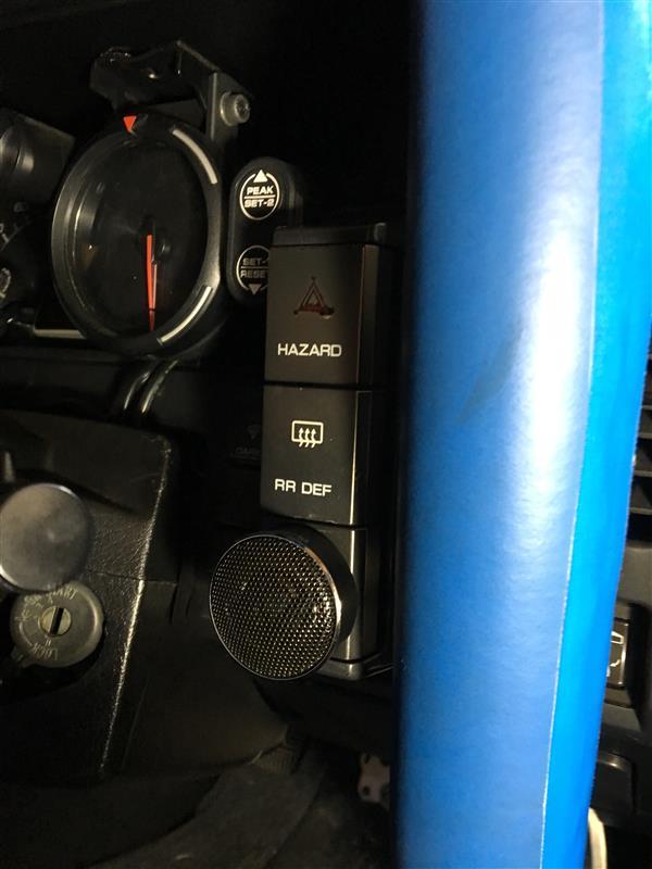 カロッツェリア TS-T420 トゥイーター取付