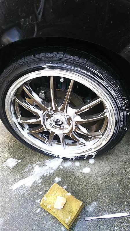 いつもの洗車😊足回り篇❗️