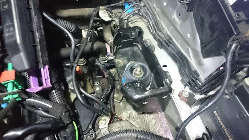 エンジンマウント・水温センサー類交換